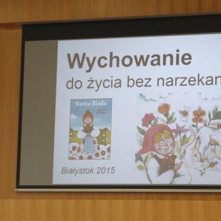 """Konferencja """"Wychowanie dzieci i młodzieży do życia bez narzekania"""""""