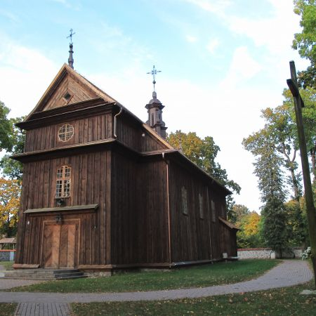 Szlak zabytkowych drewnianych świątyń Białostocczyzny